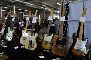 Vintage gitaar show